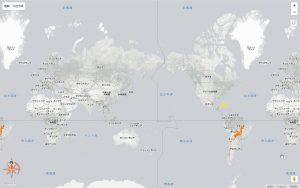 日本-南アメリカ