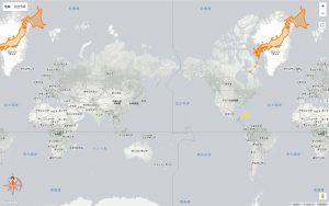 日本-グリーンランド