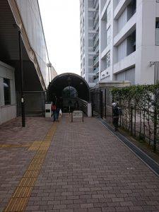 武蔵小杉地下道1