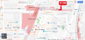 武蔵小杉地下道